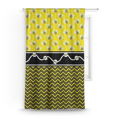 Buzzing Bee Curtain (Personalized)