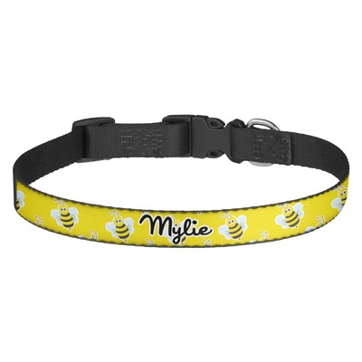 Buzzing Bee Dog Collar (Personalized)