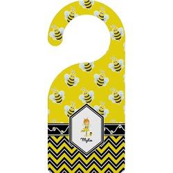 Buzzing Bee Door Hanger (Personalized)