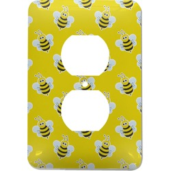 Buzzing Bee Electric Outlet Plate (Personalized)