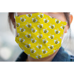 Buzzing Bee Face Mask Cover (Personalized)
