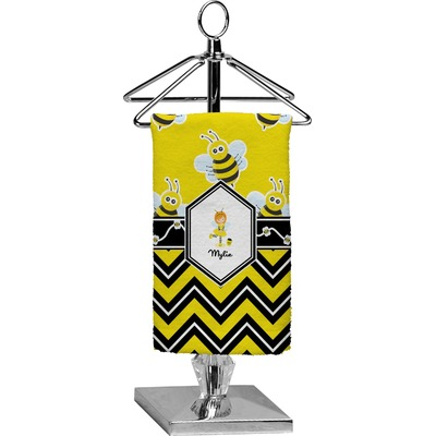Buzzing Bee Finger Tip Towel - Full Print (Personalized)