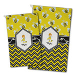 Buzzing Bee Golf Towel - Full Print w/ Name or Text