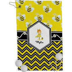 Buzzing Bee Golf Towel - Full Print (Personalized)