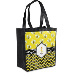 Buzzing Bee Grocery Bag (Personalized)