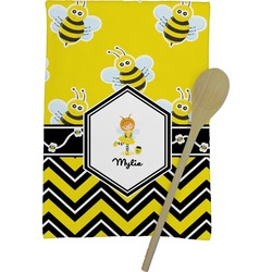 Buzzing Bee Kitchen Towel - Full Print (Personalized)