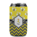 Buzzing Bee Can Sleeve (12 oz) (Personalized)