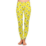 Buzzing Bee Ladies Leggings (Personalized)