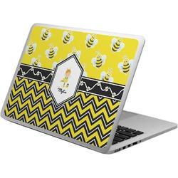 Buzzing Bee Laptop Skin - Custom Sized (Personalized)