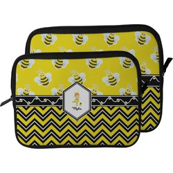 Buzzing Bee Laptop Sleeve / Case (Personalized)