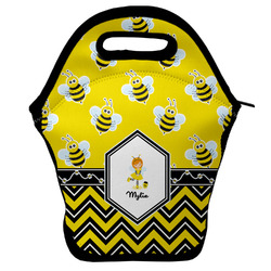 Buzzing Bee Lunch Bag w/ Name or Text