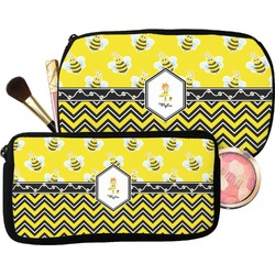 Buzzing Bee Makeup / Cosmetic Bag (Personalized)