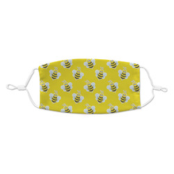 Buzzing Bee Kid's Cloth Face Mask (Personalized)