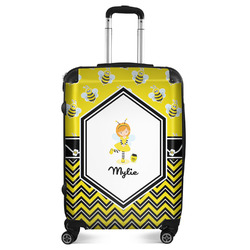 """Buzzing Bee Suitcase - 24""""Medium - Checked (Personalized)"""