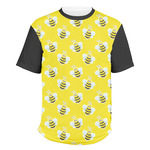 Buzzing Bee Men's Crew T-Shirt (Personalized)