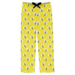Buzzing Bee Mens Pajama Pants (Personalized)