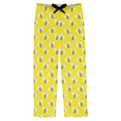 Buzzing Bee Mens Pajama Pants (Personalized)