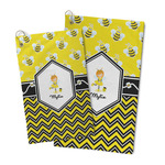 Buzzing Bee Microfiber Golf Towel (Personalized)