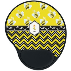 Buzzing Bee Mouse Pad with Wrist Support