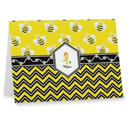 Buzzing Bee Notecards (Personalized)