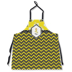 Buzzing Bee Apron Without Pockets w/ Name or Text