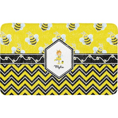 Buzzing Bee Bath Mat (Personalized)