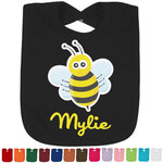 Buzzing Bee Bib - Select Color (Personalized)