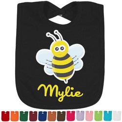 Buzzing Bee Baby Bib - 14 Bib Colors (Personalized)
