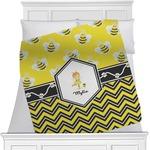 Buzzing Bee Minky Blanket (Personalized)