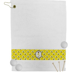 Buzzing Bee Golf Towel (Personalized)