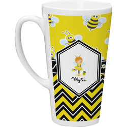 Buzzing Bee Latte Mug (Personalized)