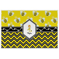 Buzzing Bee Placemat (Laminated) (Personalized)