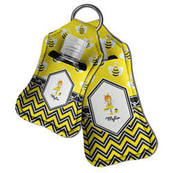 Buzzing Bee Hand Sanitizer & Keychain Holder (Personalized)