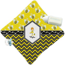 Buzzing Bee Security Blanket (Personalized)