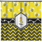 Buzzing Bee Shower Curtain (Personalized)