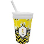 Buzzing Bee Sippy Cup with Straw (Personalized)