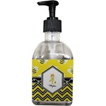 Buzzing Bee Soap/Lotion Dispenser (Glass) (Personalized)