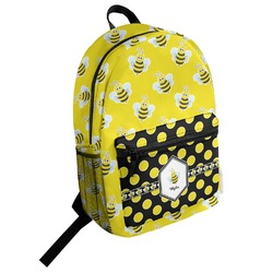 Buzzing Bee Student Backpack (Personalized)