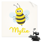 Buzzing Bee Sublimation Transfer (Personalized)