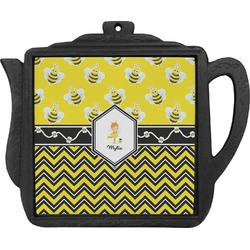 Buzzing Bee Teapot Trivet (Personalized)