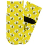 Buzzing Bee Toddler Ankle Socks (Personalized)