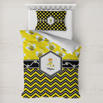 Buzzing Bee Toddler Bedding w/ Name or Text