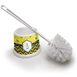 Buzzing Bee Toilet Brush (Personalized)