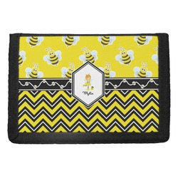 Buzzing Bee Trifold Wallet (Personalized)