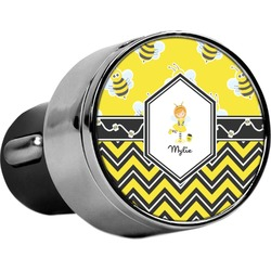 Buzzing Bee USB Car Charger (Personalized)
