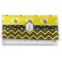 Buzzing Bee Vinyl Checkbook Cover (Personalized)