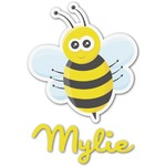 Buzzing Bee Graphic Decal - Custom Sizes (Personalized)