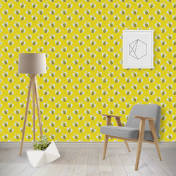 Buzzing Bee Wallpaper & Surface Covering