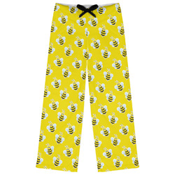 Buzzing Bee Womens Pajama Pants (Personalized)