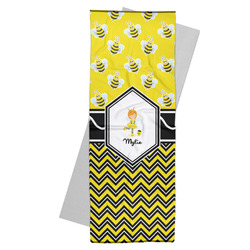 Buzzing Bee Yoga Mat Towel (Personalized)
